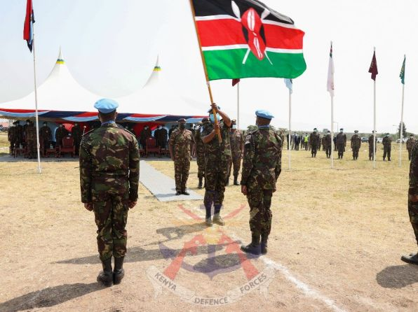 PHOTOS: Kenyan troops ready for peacekeeping mission in DR Congo