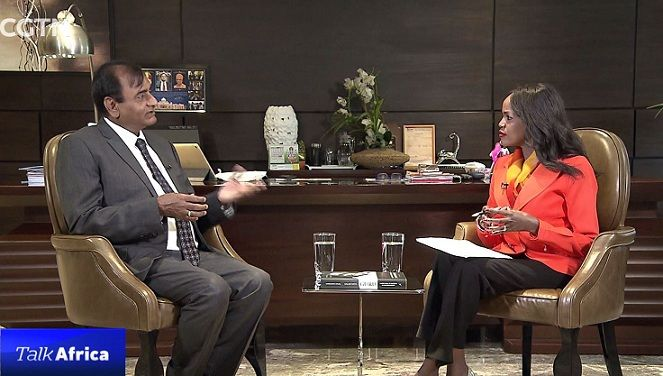 Talk Africa: A Conversation with Narendra Raval