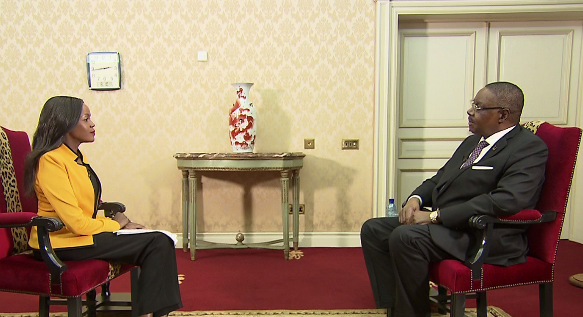 Talk Africa Interview with Malawi President Peter Mutharika