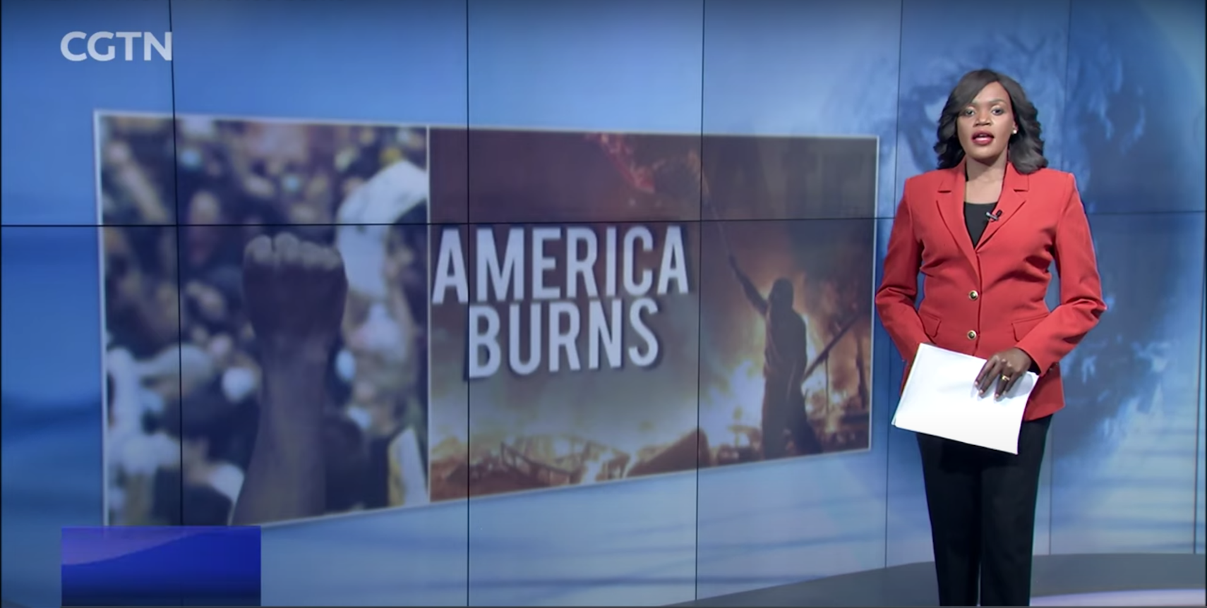 Talk Africa: America burns