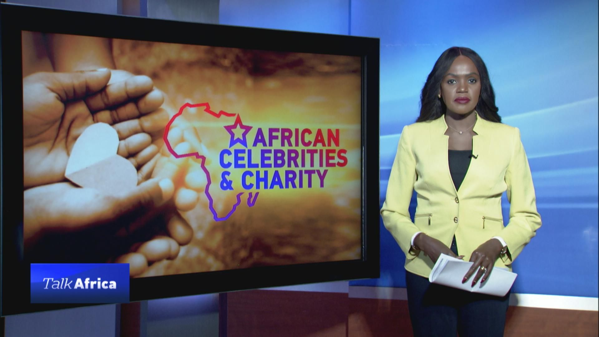 TALK AFRICA 26:10 African celebrities and charity