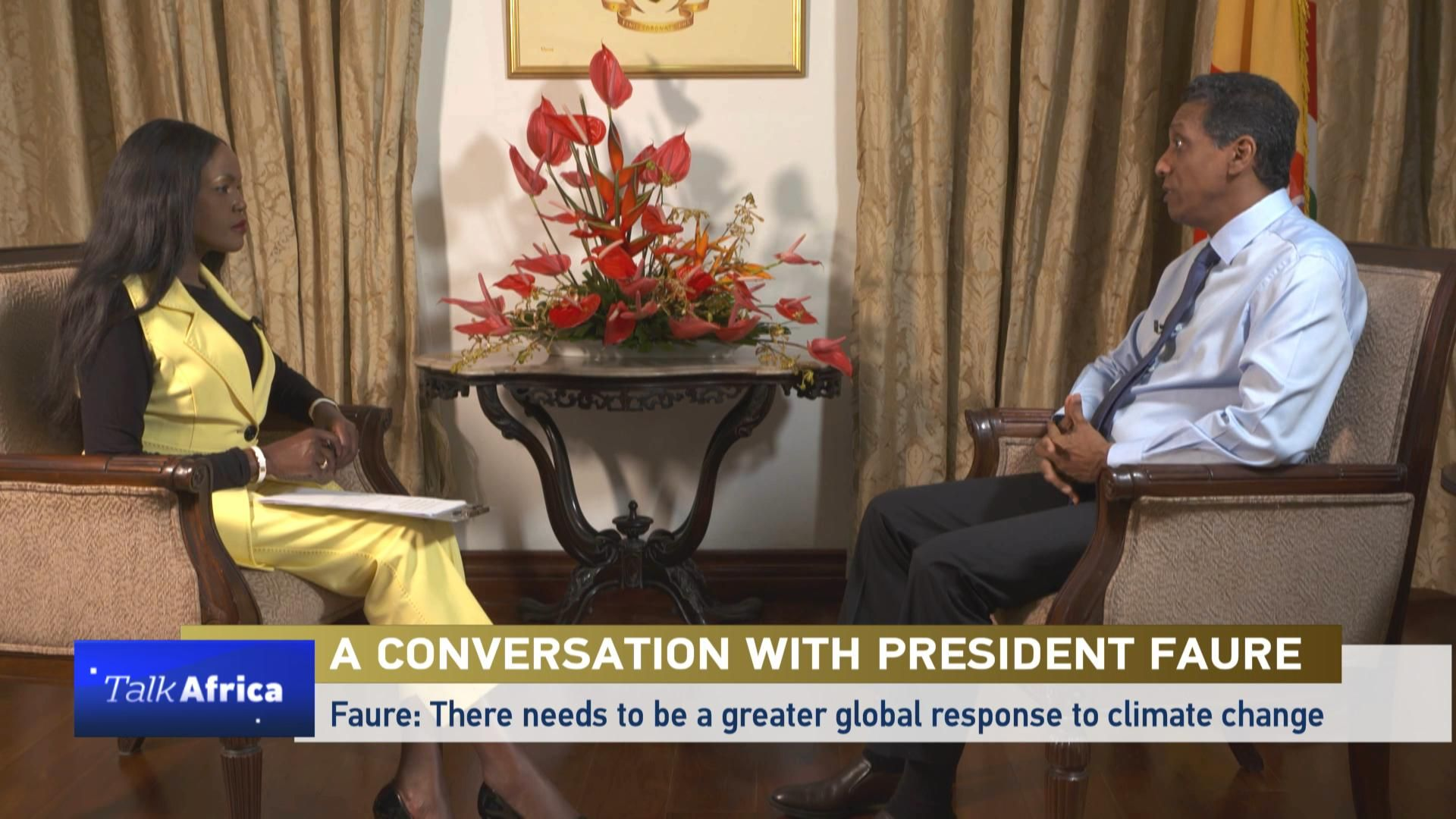 Talk Africa: A conversation with Danny Faure